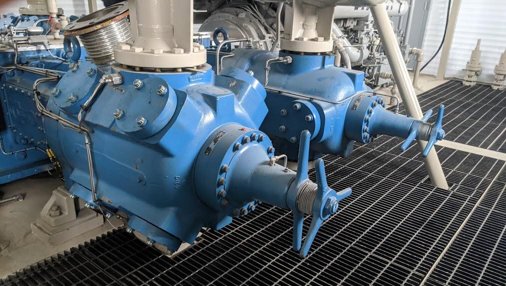 110 Recip Compressor Cylinder